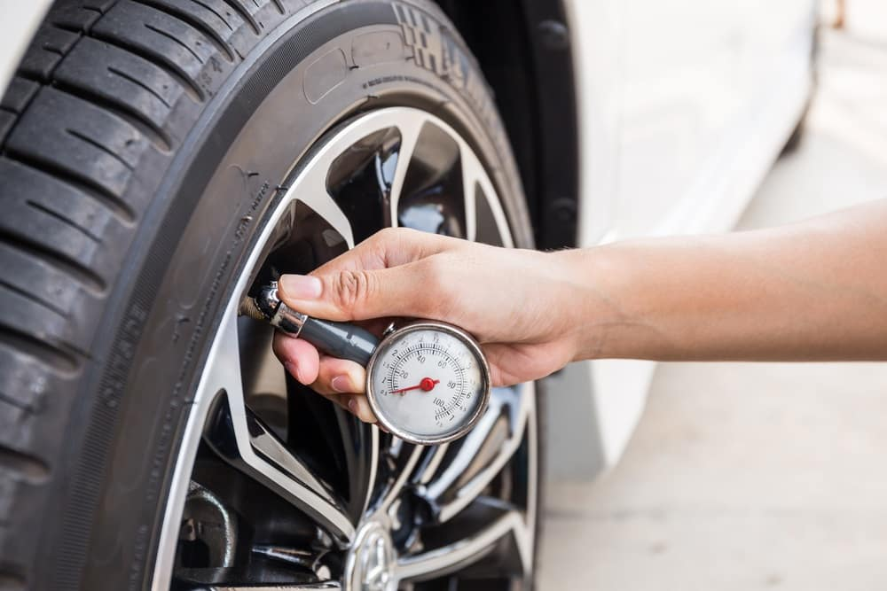 Tire Pressure Checked