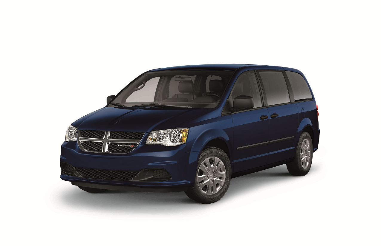 2017 Dodge Grand Caravan CVP Jazz Blue Pearl