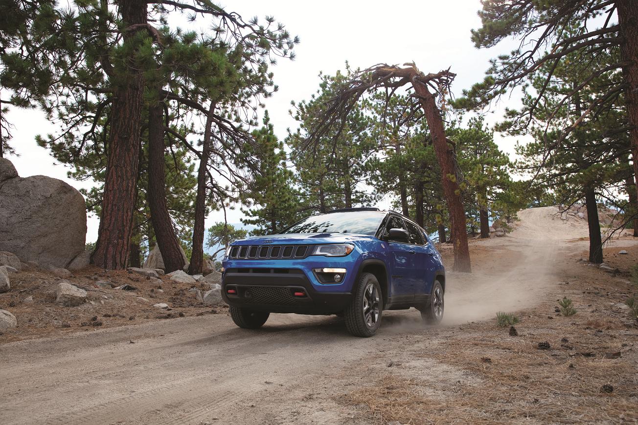 2019 Jeep Compass Trailhawk Blue