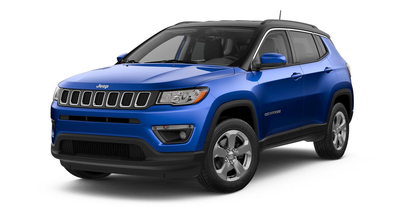 2018 Jeep COMPASS LATITUDE Laser Blue Pearl Coat
