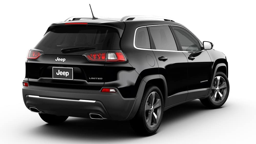 2019 Jeep Cherokee in Diamond Black Crystal