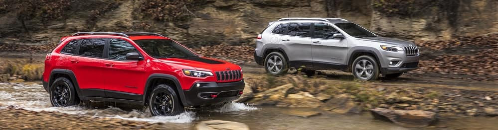 2019 Jeep Cherokee vs Chevy Equinox