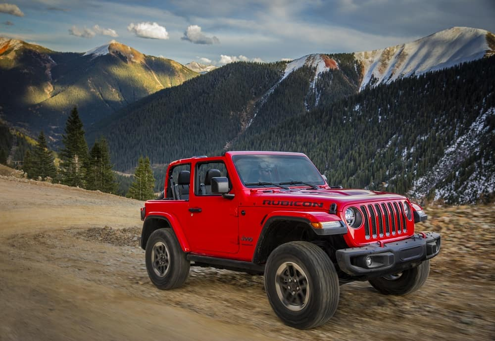 2019 Jeep Wrangler Firecracker Red