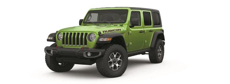 2019 Jeep Wrangler Green banner