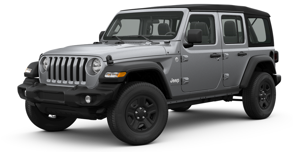 2019 Jeep Wrangler Billet Silver Metallic