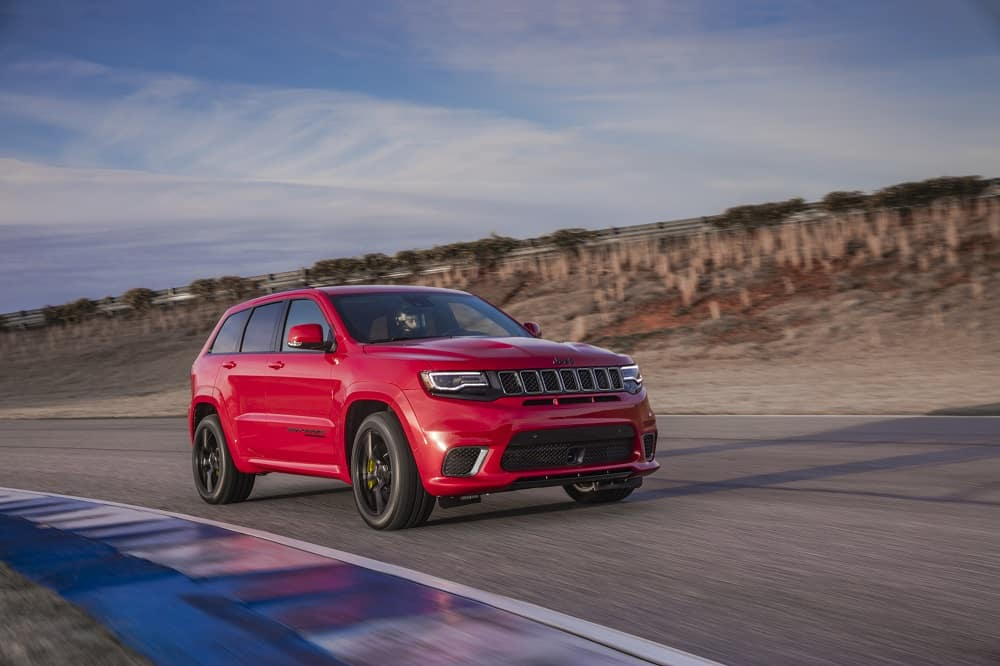Jeep Grand Cherokee Redline