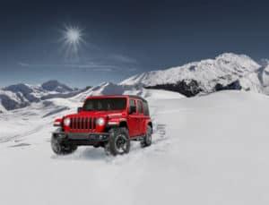 Jeep Wrangler Red Rubicon
