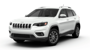 2020 Jeep Cherokee Latitude PLUS Bright White Clear Coat