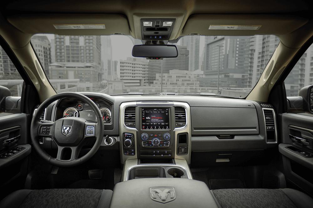 Ram 1500 Interior Dashboard
