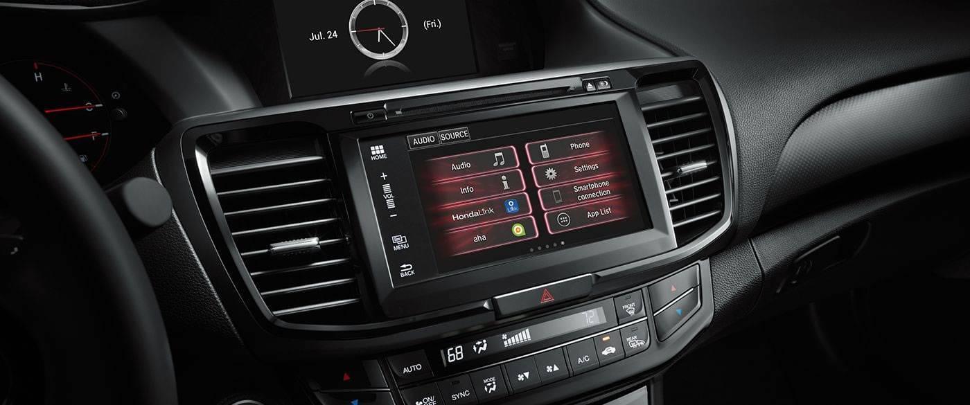 2017 Honda Accord Coupe Interior Front
