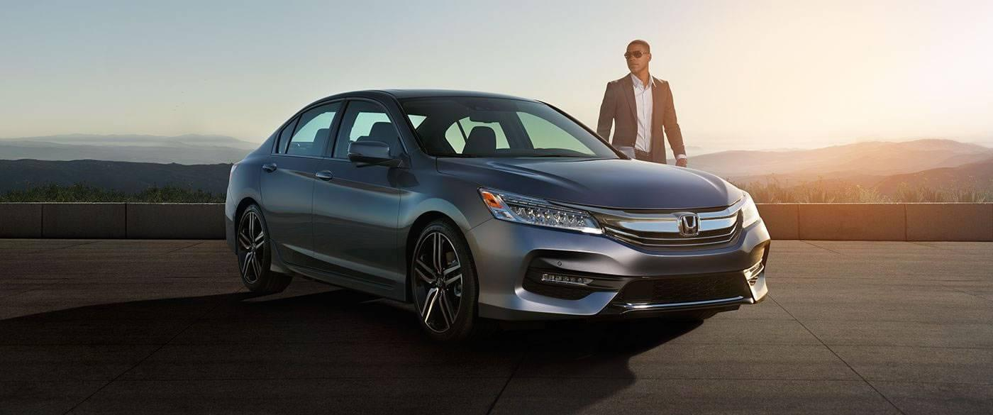 2017 Honda Accord Sedan Sport Gray Exterior Front View