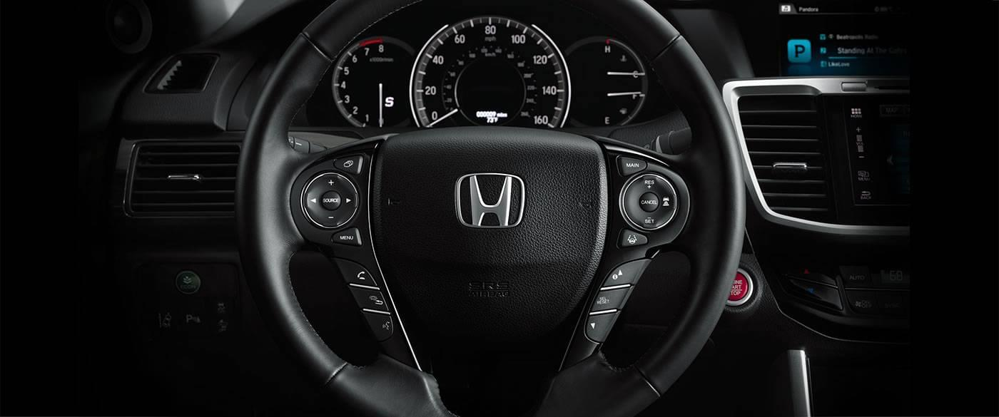 2017 Honda Accord Sedan Sport Interior Steering Wheel