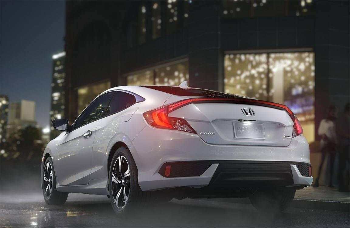 2017 Honda Civic Exterior Rear White