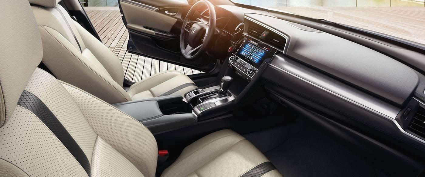 2017 Honda Civic Sedan EX-T Interior Front Detail