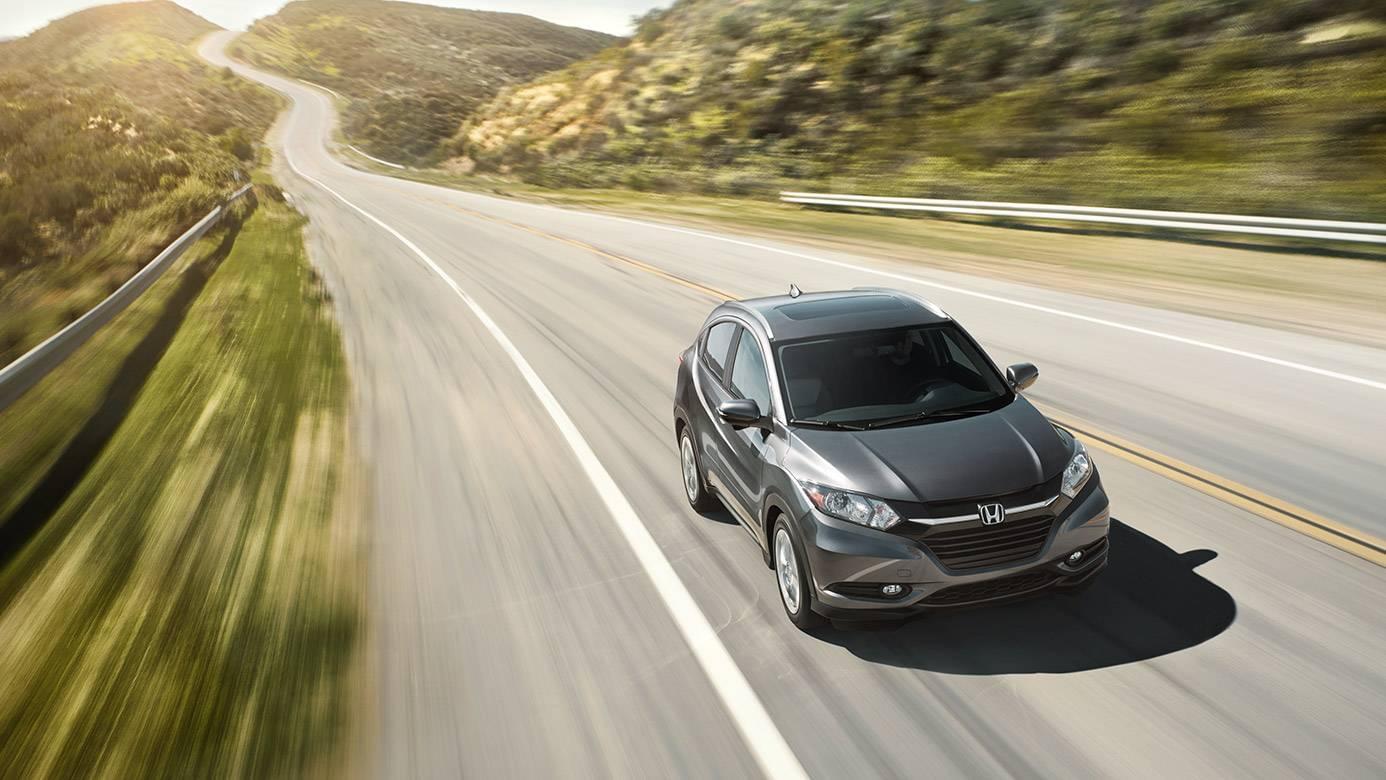 2017 Honda HR-V Front Exterior Gray