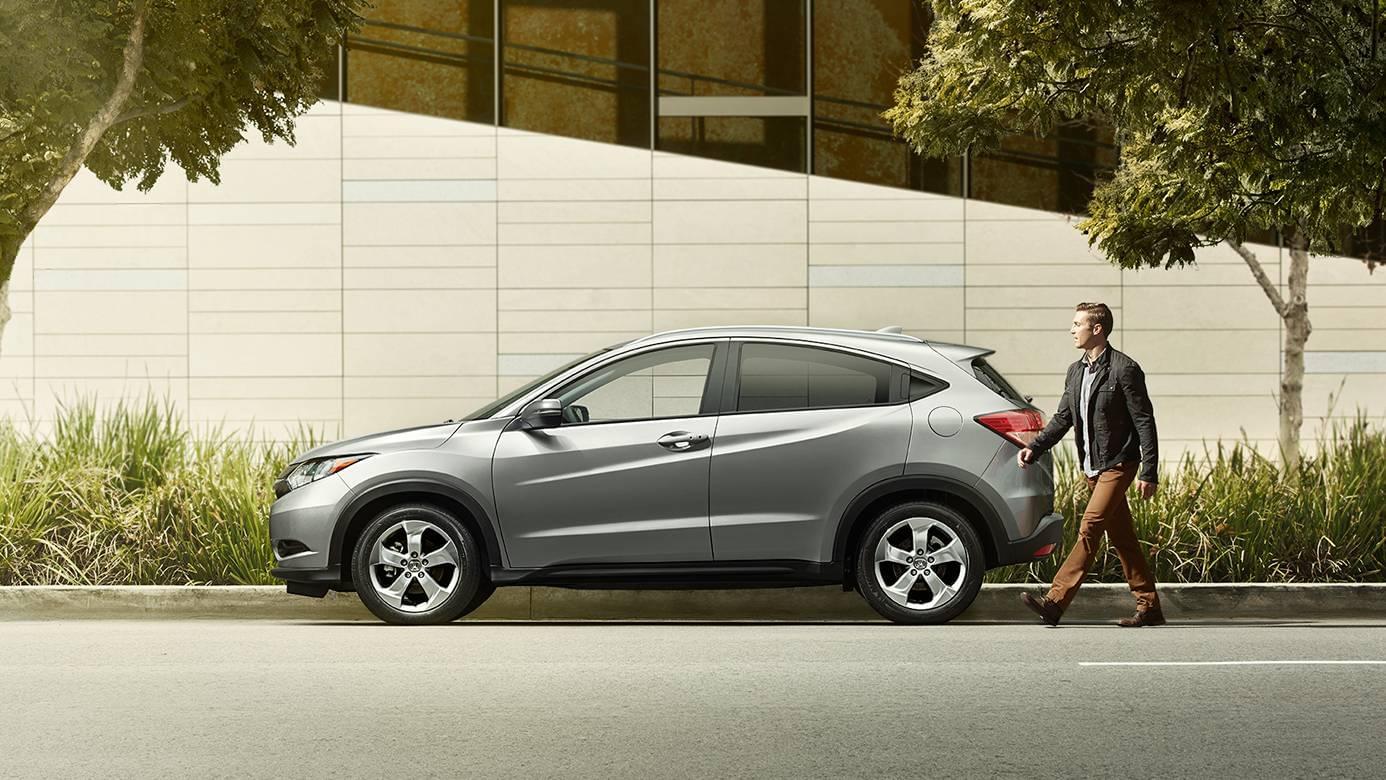 2017 Honda HR-V Side Exterior Gray