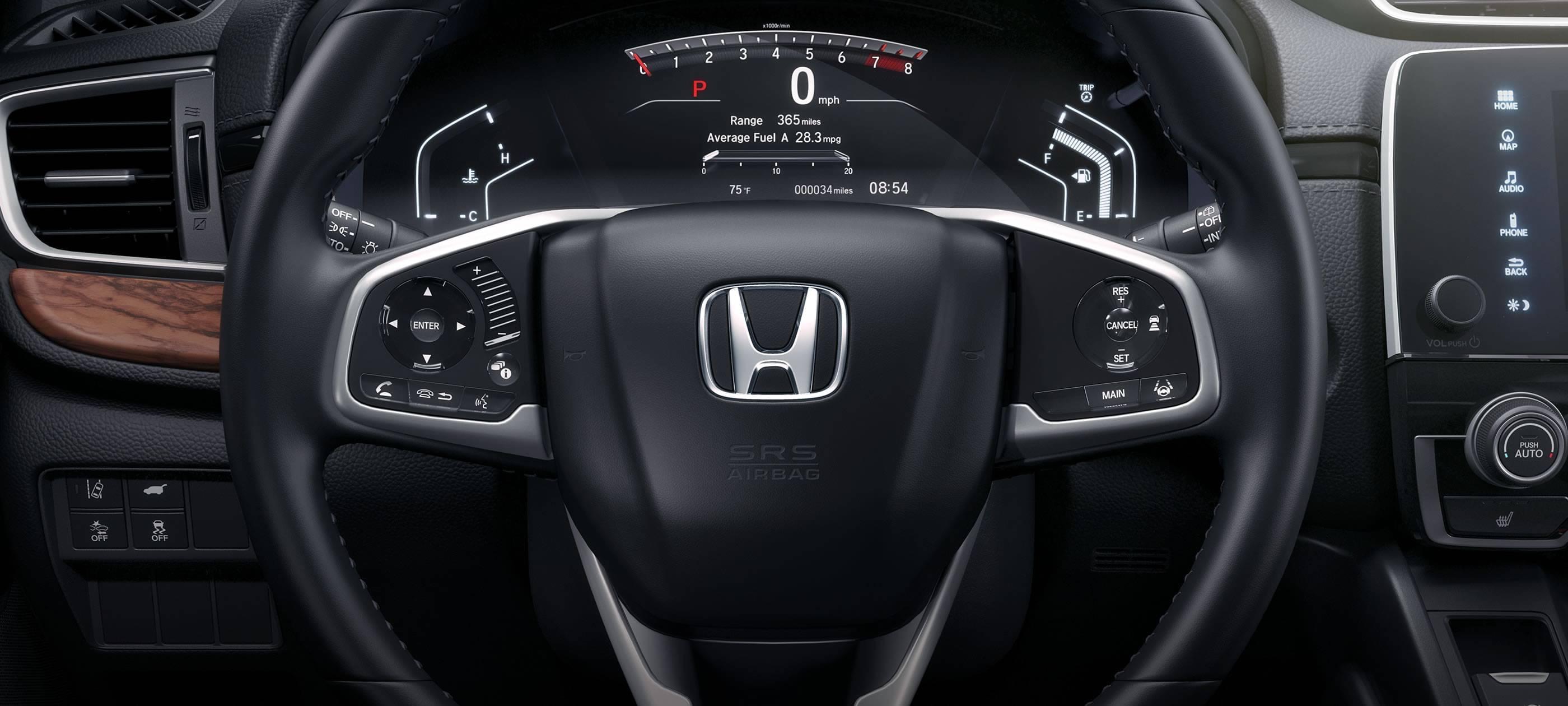 2017 Honda CR-V EX-L Wheel Interior