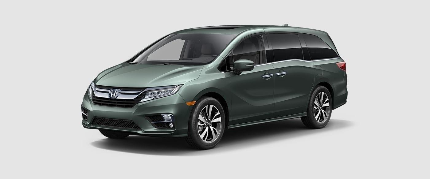 2018 Honda Odyssey Green Front Exterior
