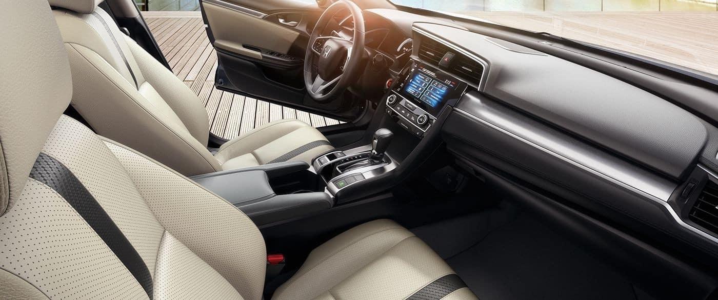 2018 Civic Sedan interior