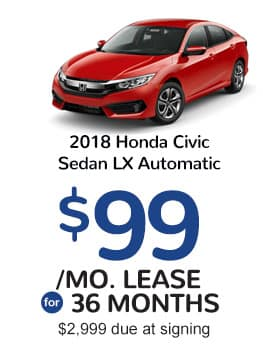 Civic Lease Return Offer