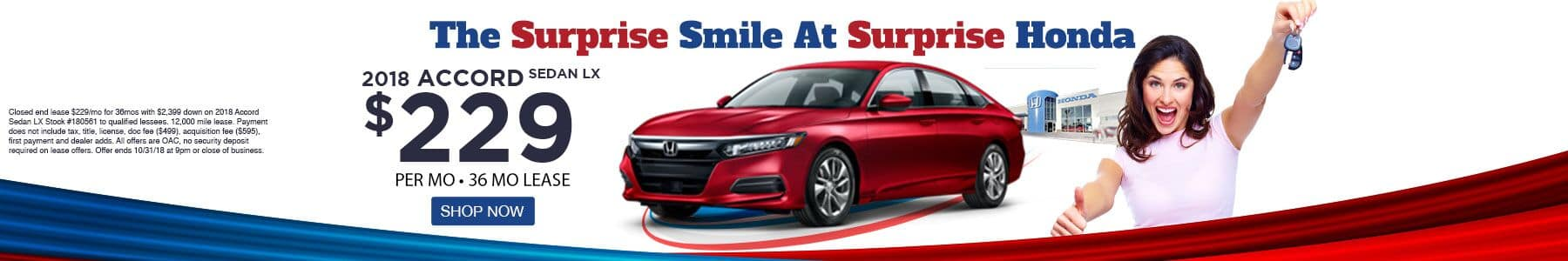 Honda Accord Offer