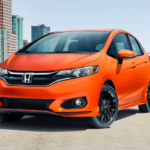 2019 Honda Fit, Orange Exterior