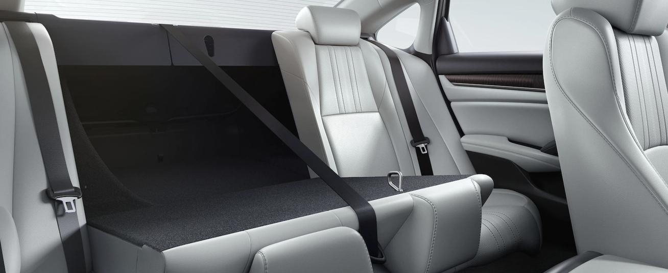 2020 Honda Accord, Cargo Space