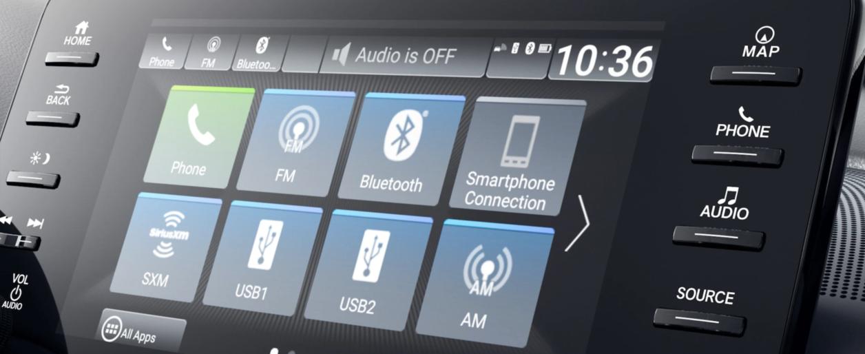 2020 Honda Accord, Technology Screen