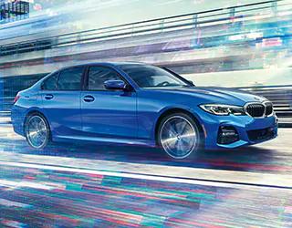 2021 BMW 3 series drive fast