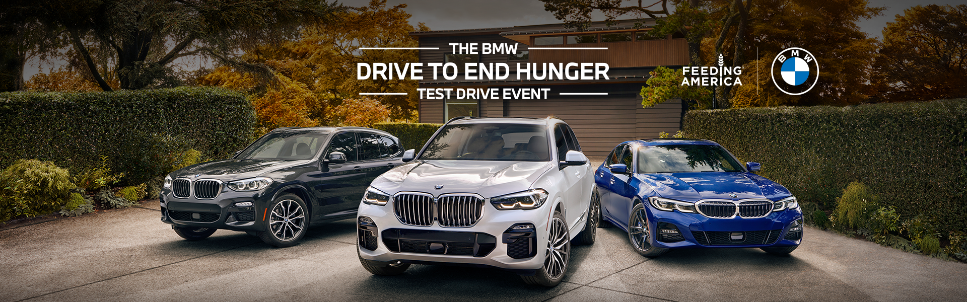 The BMW Drive to End Hunger Test Drive Event