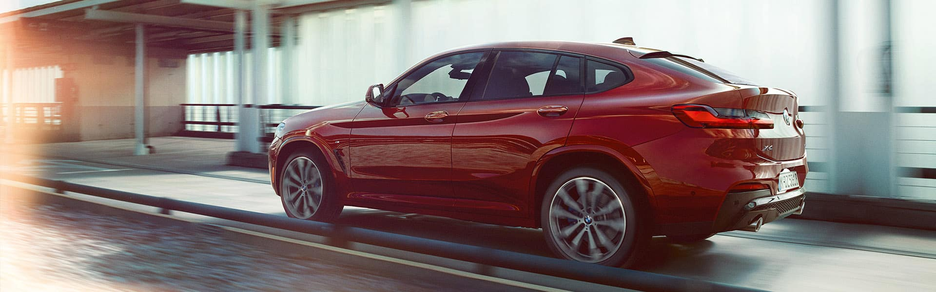 The  new 2022 BMW X4, a dynamic and luxurious new sports activity coupe ready to make a statement.