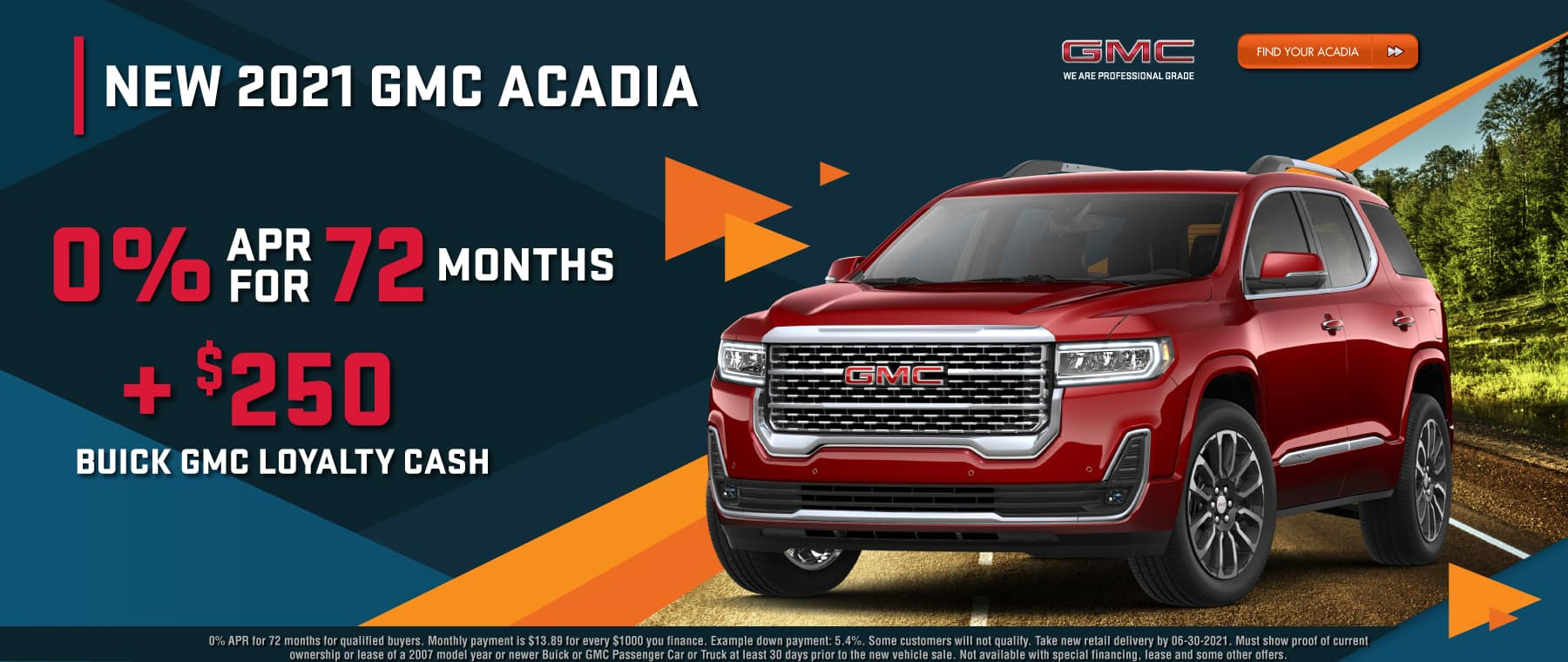 Find your Acadia