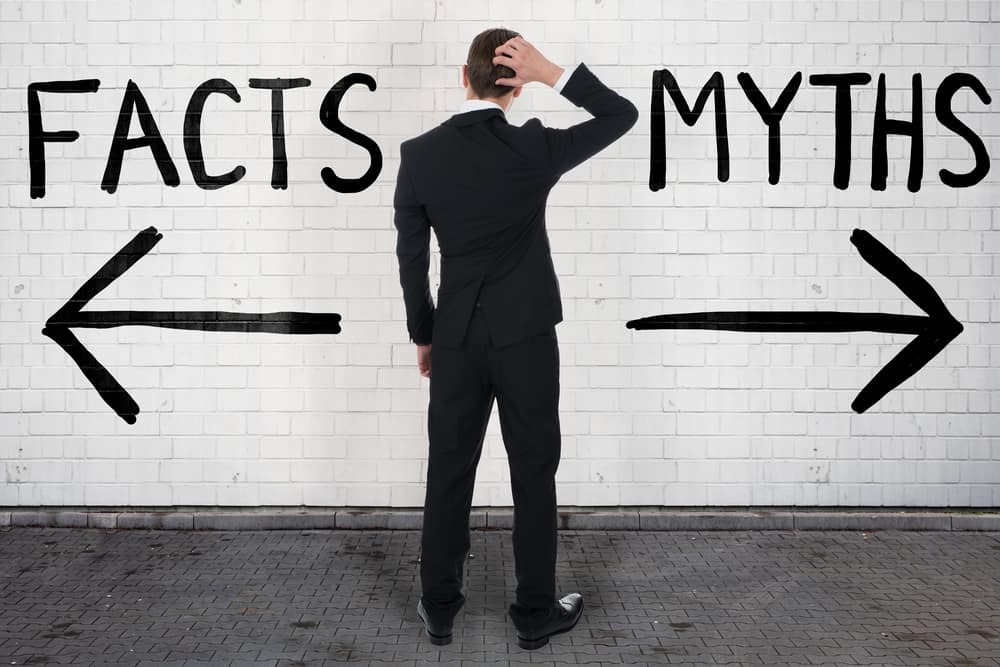 Facts and myths opposite concept