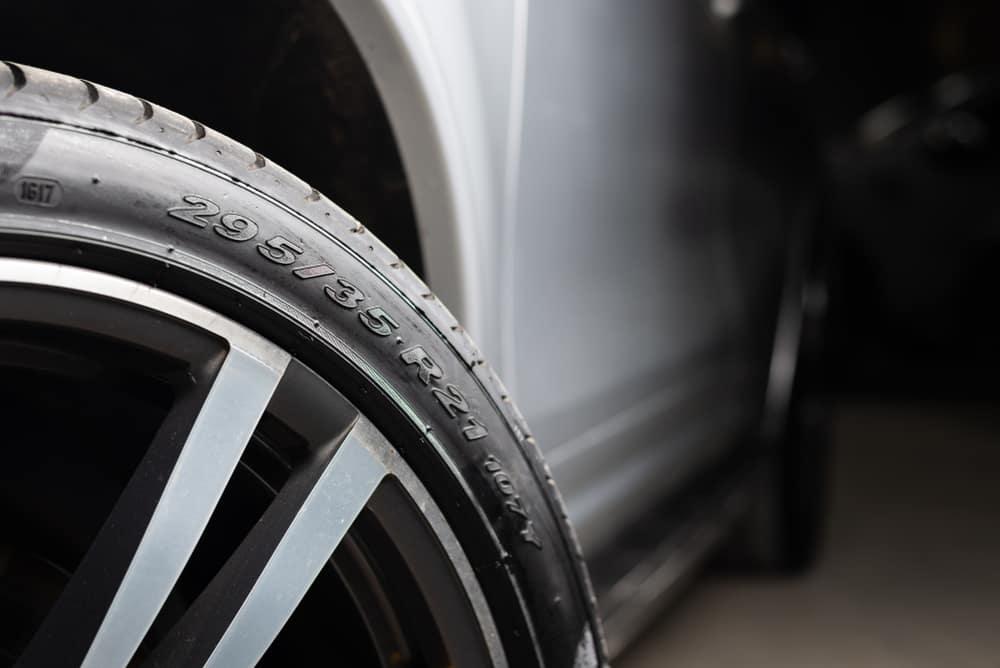 Tire on a Car