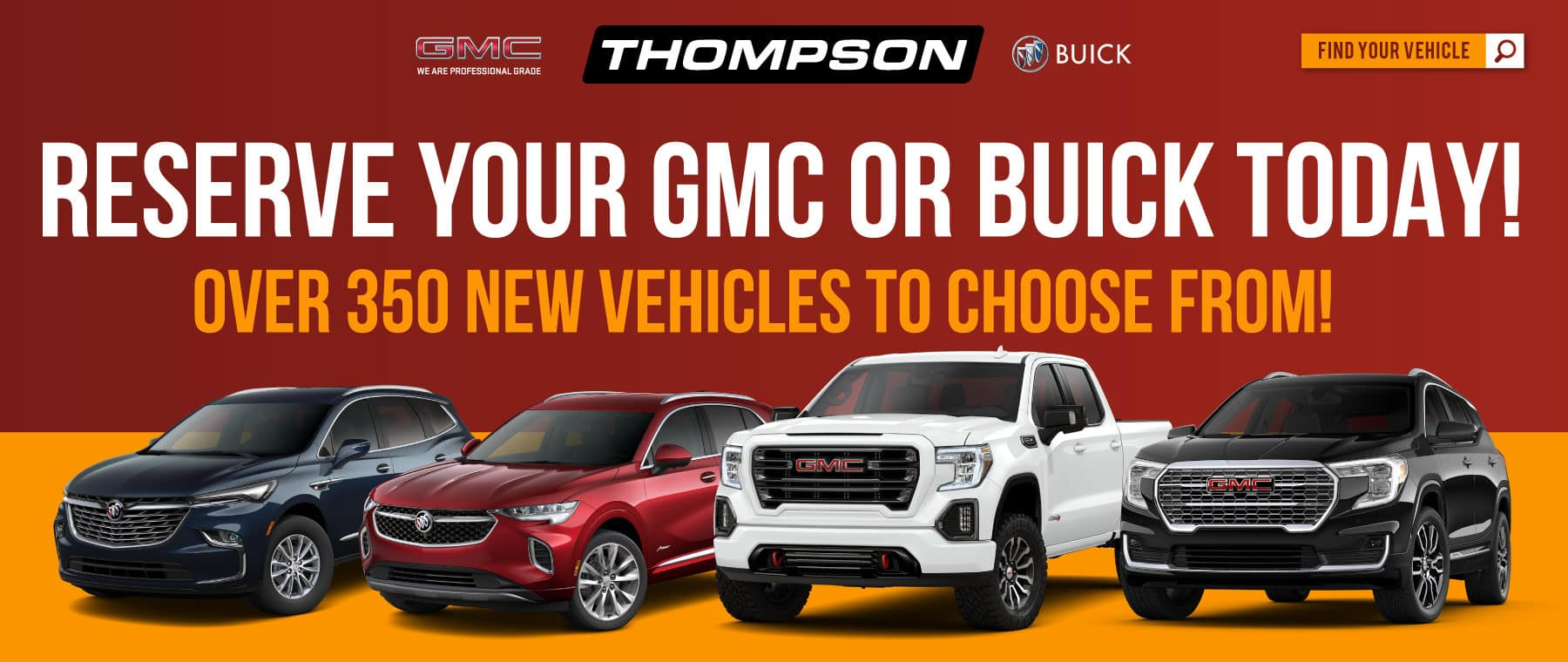 Reserve your Buick or GMC now
