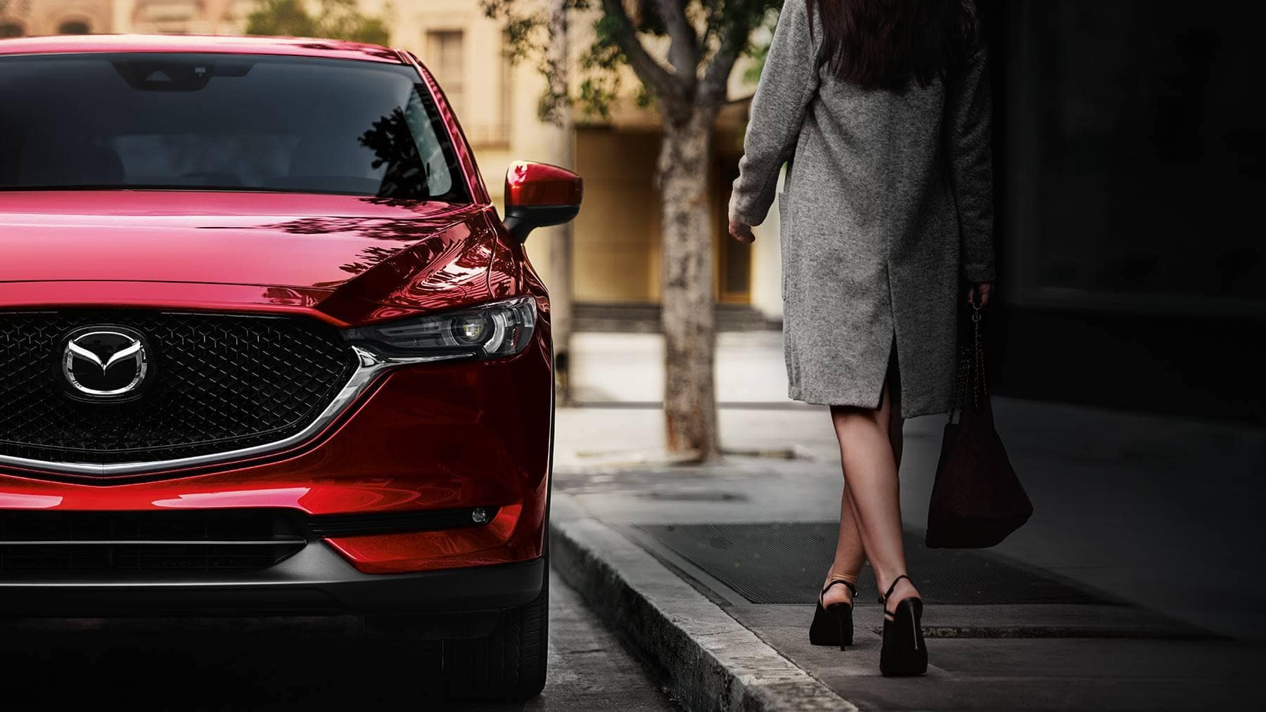 2018 Mazda CX-5 crossover front grille