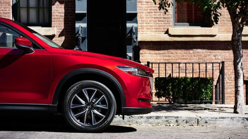 2018 Mazda CX-5 profile on the street