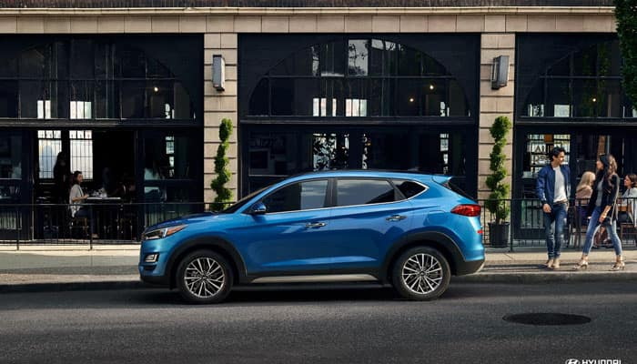 2019 Hyundai Tucson Vs 2019 Honda Cr V Suv Comparison