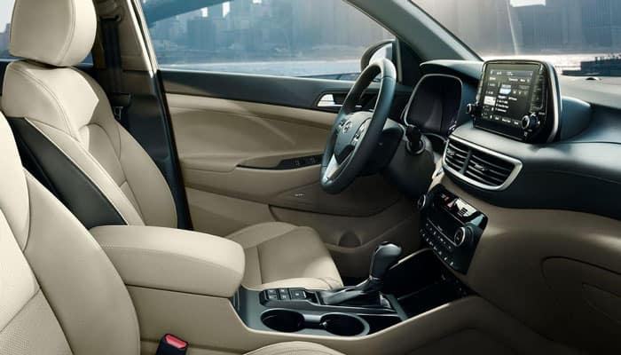 2019 Hyundai Tucson Interior Dimensions Passenger View