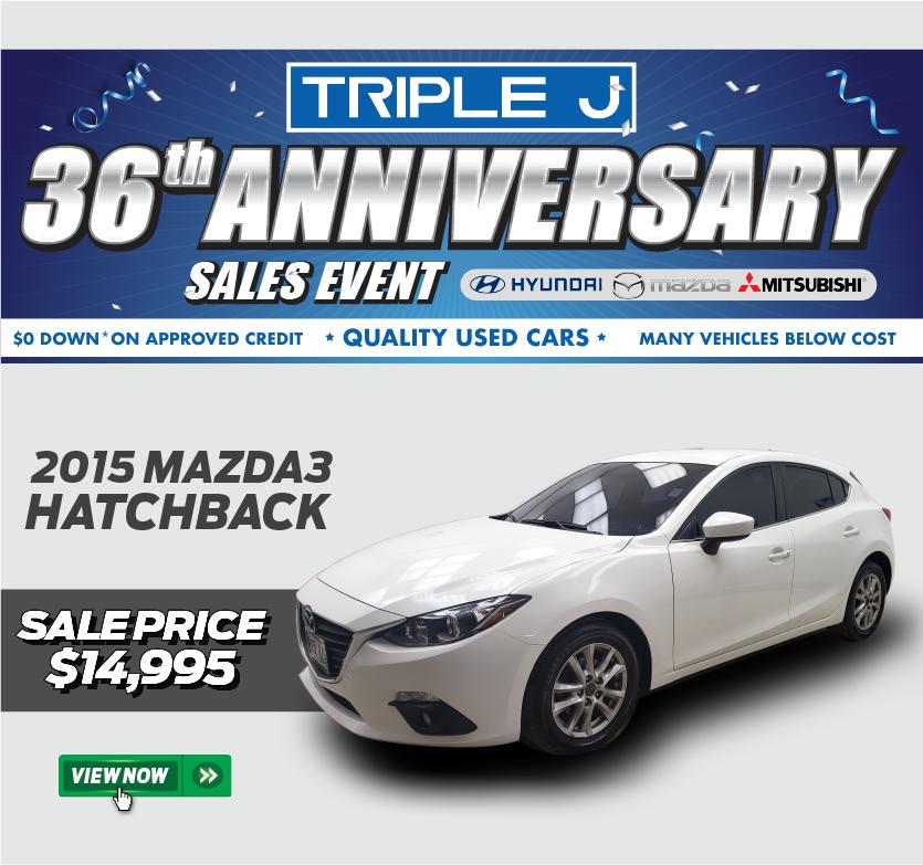 2015 Mazda3 Hatchback