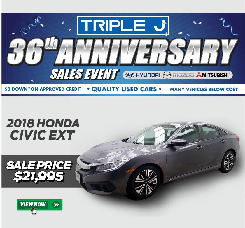 2018 Honda Civic EXT