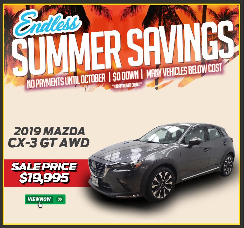 2019 Mazda CX-3 GT AWD