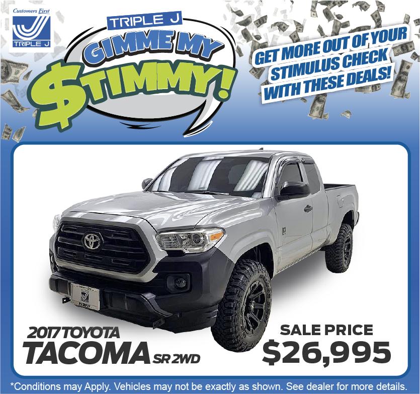 2017 Toyota Tacoma SR 2WD