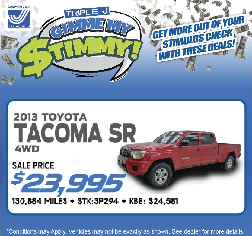 2013 Toyota Tacoma SR 4WD
