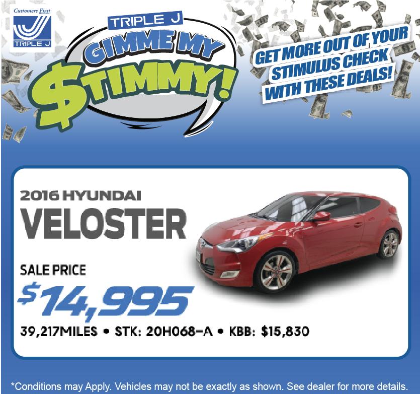 2016 Hyundai Veloster Hatchback
