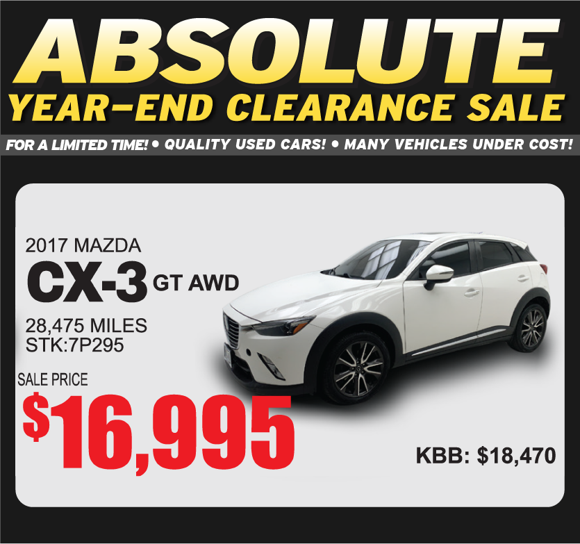 2017 Mazda CX-3 GT AWD