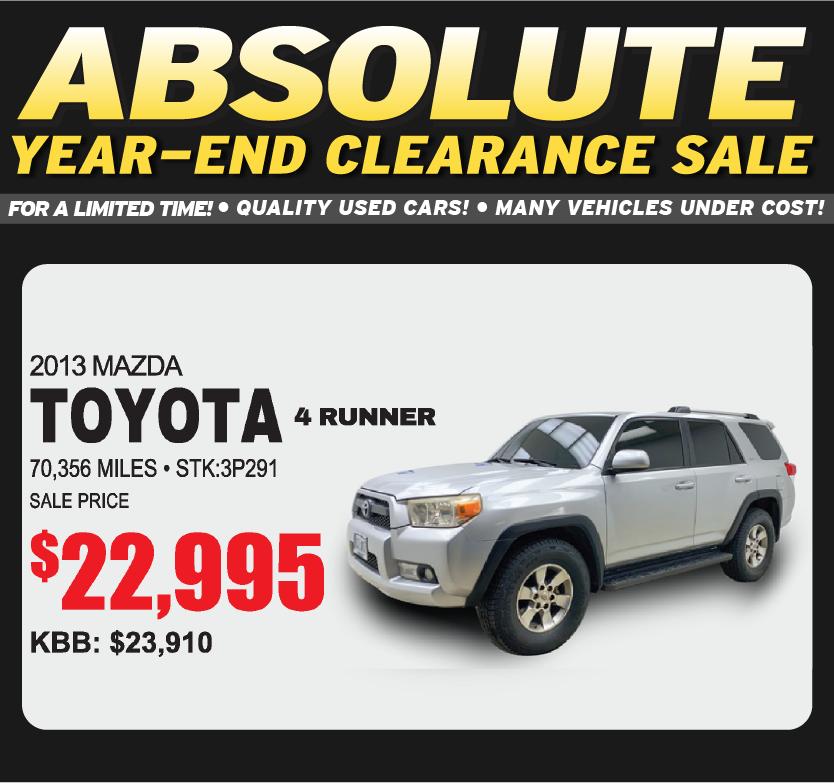 2013 Toyota 4 Runner