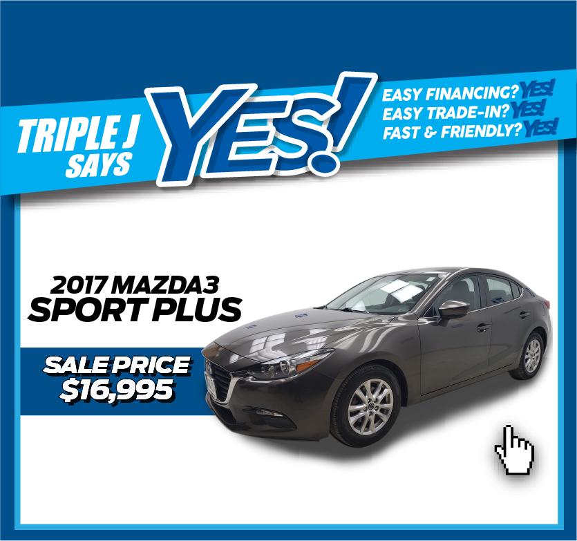 2017 Mazda3 Sport Plus