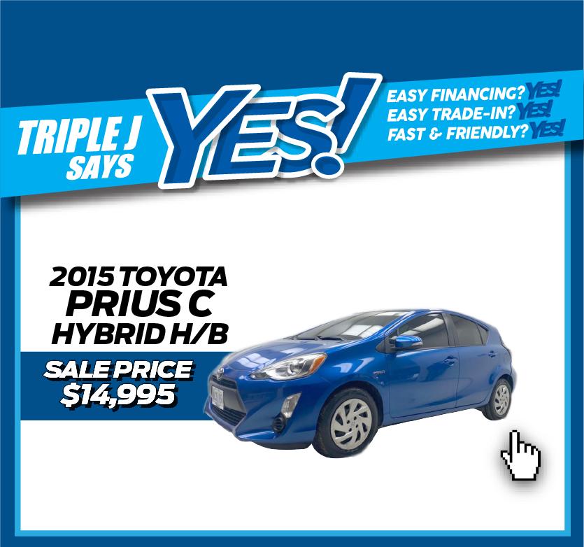 2015 Toyota Prius C Hybrid H/B