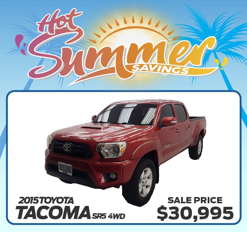 2015 Toyota Tacoma SR5 4WD